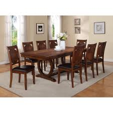 Wayfair Upholstered Dining Room Chairs by 9 Pc Dining Room Set