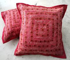 Decorative Couch Pillows Walmart by Pillows And Cushions Archives Pandas House Red Boho Throw Pillow