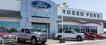Rodeo Ford Trucks In Goodyear Phoenix AZ Ford Truck Dealer Arizona