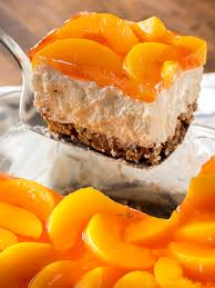 Peach Pretzel Jello Salad – 12 Tomatoes