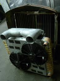 100 Rat Rod Semi Truck Gator Mack Radiator Shroud CAC Electric Fans Built For