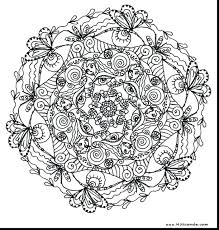 Printable Mandala Coloring Pages Adults Free Print Mandalas To And Color Full Size