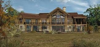 The Mountain View House Plans by Mountain View Log Homes Cabins And Log Home Floor Plans