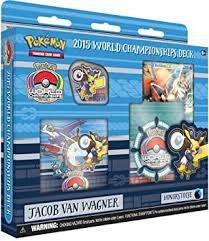amazon com 2015 pokemon world chionships deck jacob van