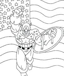 Full Image For Lego Captain America Printable Coloring Pages Of