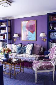 Grey And Purple Living Room by Glamorous Purple Living Room Decor And Orange White Purple Wall