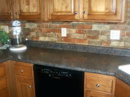 brick tile backsplash kitchen grey brick tile kitchen large