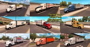 Painted Truck And Trailers Traffic Mod Pack By Jazzycat V 1.1 ... Sioux City Truck Trailer North American And Trailer Stock Image Image Of American Camping 3707471 Simulator Peterbilt 567 Rental Freightliner Doepker Dealer Saskatoon Frontline Painted Trailers Traffic Pack V14 By Jazzycat Ats Mods Michelin Tires For Trucks In Big Rig Truck Drive West Into The Sunset On 1934 Studebaker Semi Vintage Pinterest Without A Vector Images Of Any Size In V11 Eagles Modding Forums New