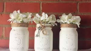 How To Make Beautiful Rustic Mason Jars