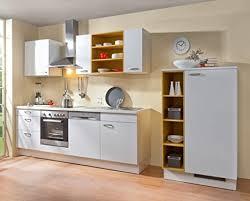 de küche weiß sina links 240cm 90cm breit inkl