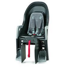 siege bébé velo siège arrière bébé vélo sur porte bagage guppy maxi polisport