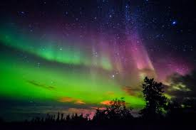 The Northern Lights could be seen as far south as Southern England