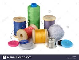 Sewing supplies Stock Royalty Free Image Alamy