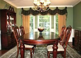 Dining Room Curtain Ideas Drapes Curtains Dramatic Window Treatments Dinin