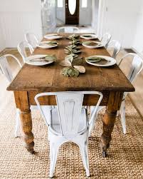 Rustic Farmhouse Dining Table Best Of Chair Appealing Throughout Prepare 15