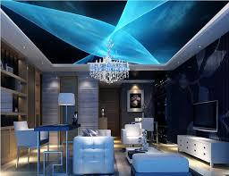 foto wandmalereien decke tapete blaue abstrakte mode tapete decke europa anpassen vlies tapete wohnzimmer decke