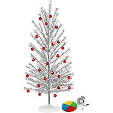 Aluminum Christmas Tree With Color Wheel Set