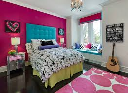 Bedroom Ideas For Teenage Girls With Teal And Pink Theme