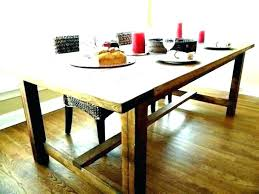 Picnic Style Dining Room Table Bench