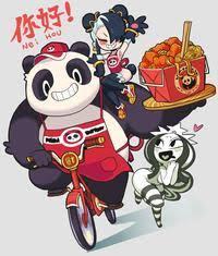 Nei Hou Pokemon GO Coffee Cartoon Art Illustration Starbucks Chan