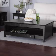 Narrow Sofa Table With Storage by Coffee Tables Splendid All Glass Coffee Table Center Mirrored