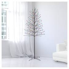 7ft Slim Christmas Tree by Philips 7ft Prelit Slim Artificial Christmas Twig Tree Bicolor Led