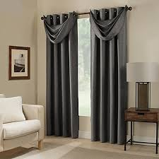 Bed Bath And Beyond Bathroom Curtain Rods by Paradise Room Darkening Grommet Top Window Curtain Panel And