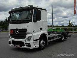 100 Benz Truck 2013 Mercedes Actros 26_chassis Cab Trucks Year Of Mnftr