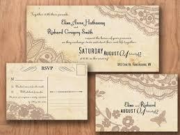 Vintage Wedding Invitation Template Invitations Templates Invi With Rustic Printable S