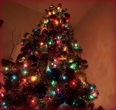 design multi color tree 5 ft and pre lit