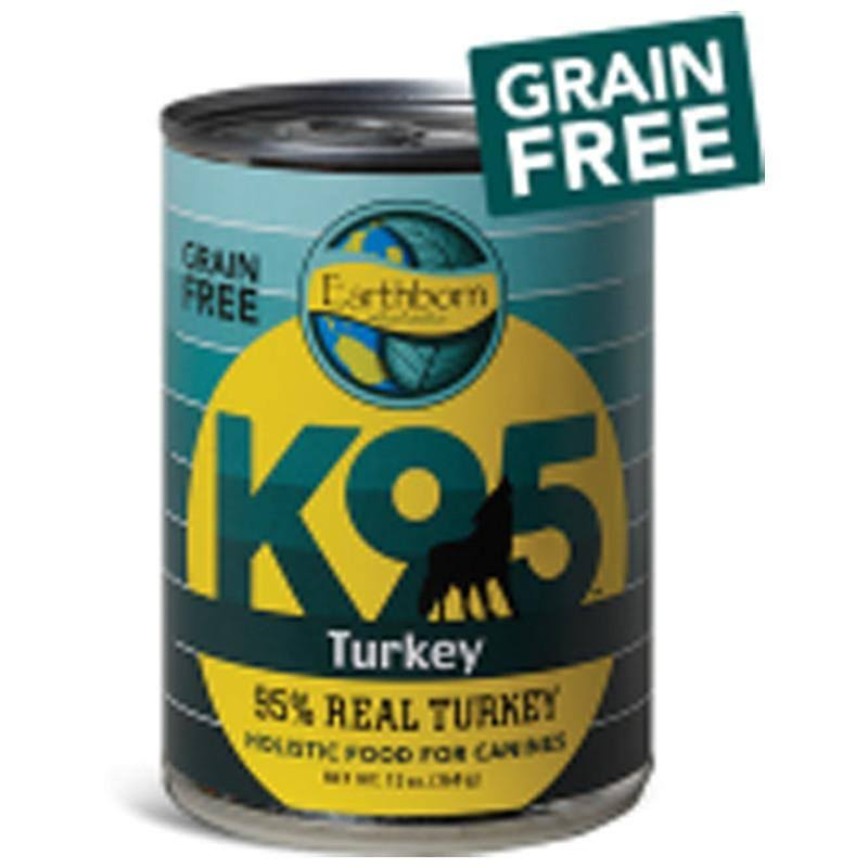 Earthborn Holistic K95 Grain Free Dog Food Turkey 13 oz
