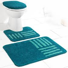 sensino badezimmer garnitur für stand wc 3 tlg pacific