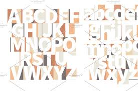 100 Art Deco Shape Minimal Geometric Artdeco Letters