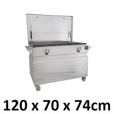 Aluminium Toolbox Tool Box Job Site Ute Trailer Truck Caster Wheels ...