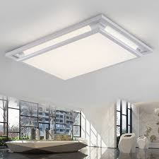 creative square led ceiling lights for living room bedroom led