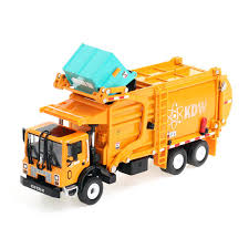 100 Diecast Garbage Trucks Amazoncom KDW 143 Scale Recycling Truck Toys For