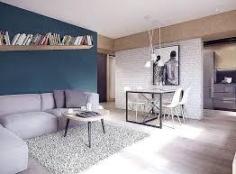 kleines wohnzimmer mit esstisch