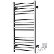 Bathroom Towel Bar Height by Decor Stainless Heated Wall Mounted Towel Rack For Appealing Wall