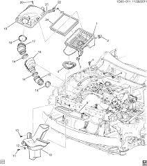 100 2011 Malibu Parts Air Intake System Chevrolet EPC Online Nemigacom