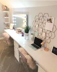 simple gold desks for bedroom or simple