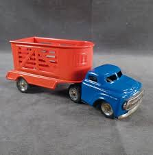 Vintage Tin Toy Truck With Horse Trailer - Small Scale Japanese Tin ... 1970s Tonka Truck And Horse Trailer Trailers Toy Prime Mover Matchbox Scammell Mechanical 3wheels No Boley Toys Farm With Barn Animals Two Farmers Big Country Sundowner Cattle Loading Up Breyer Mini Whinnies Horses In Ves Adventure Vehicle Review Home Load Trail Trailers Largest Dealer Auto Trader Euro Truck With Trailer Thewoodenhorseeu The Wooden Saddle Pals Off Roader And 3800 Hamleys For Breyer Traditional Series Horse Trailer Horseland 150 Mercedesbenz Transporter
