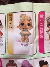 Image Is Loading New Lol Surprise Doll Luxe 24k Gold Rare