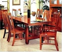 7 Mission Style Dining Room Table Furniture