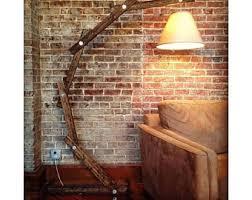 Floor Lamp Arc Wooden Lamps Modern Lighting