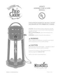 Char Broil Patio Bistro Manual by 4654870 Char Broil Electric Patio Caddie