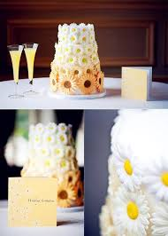 Sunflower Wedding Cakes Ideas