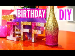DIY Room Decor For Cheap Simple And Cute Birthday Decoration