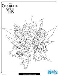 Tinker Bell Friends Coloring Page Color Online Print