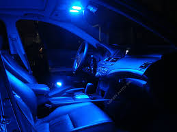 Blue 9-SMD Circle LED Panel Interior Lights