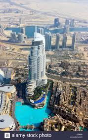 100 The Armani Hotel Dubai View From Burj Al Khalifa Onto The Souk Al Bahar And The